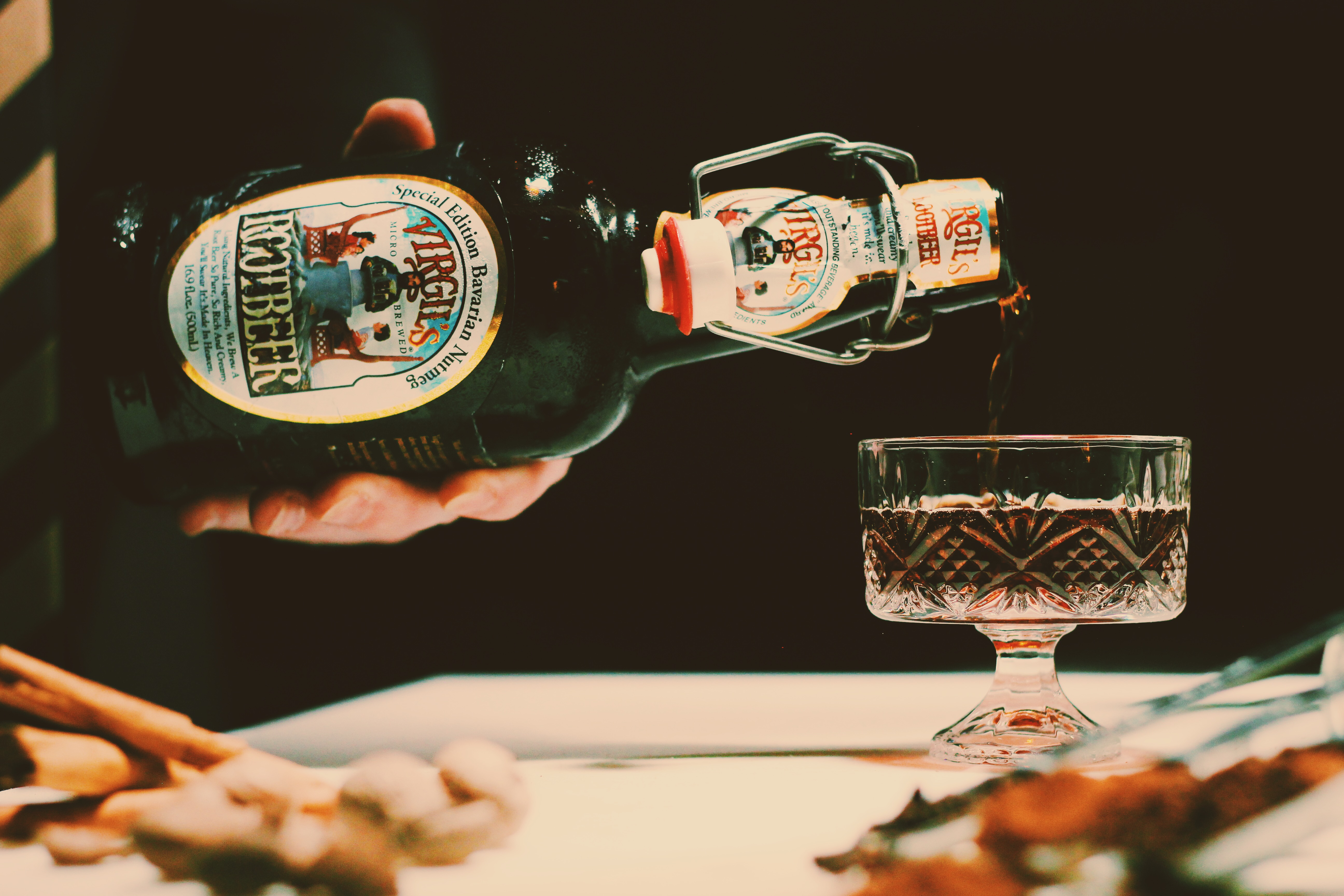 bavarian nutmeg root beer | Five Star Soda