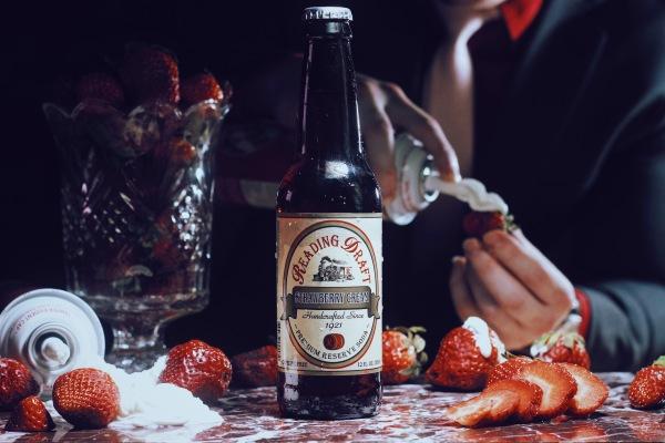Reading Draft Strawberry Cream Soda 1